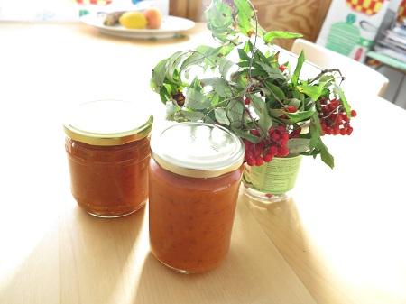 Pihlajanmarjahillo pihlajanmarja-porkkanahillo