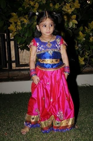 Cute Baby in Lovely Skirt