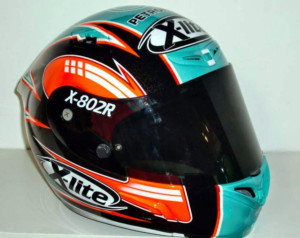 racing helmets garage x lite x 802r h syahrin sepang 2014. Black Bedroom Furniture Sets. Home Design Ideas