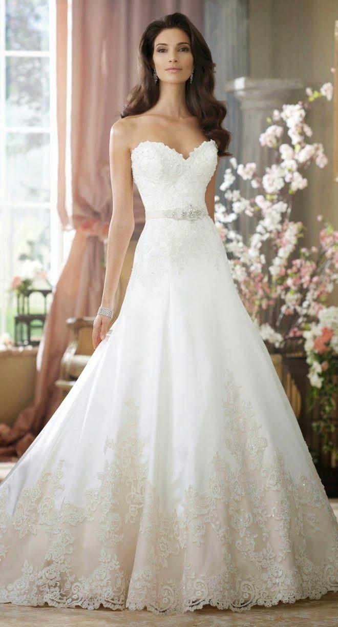 Tendencias 2015 vestido novia