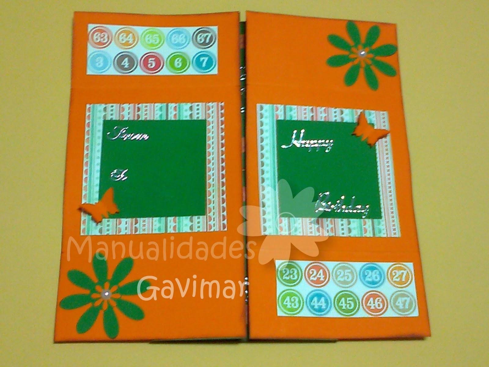 Manualidades gavimar tarjeta infinita - Manualidades para un amigo invisible ...