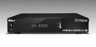 Atualizacao do receptor Duosat Prodigy HD MM V