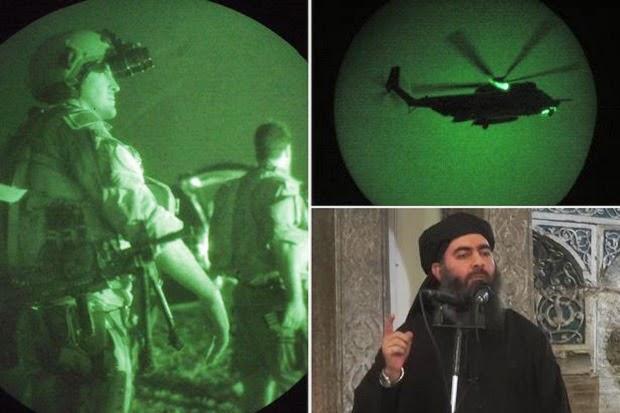 Ulangi Kisah Osama, 100 Agen CIA Buru Bos ISIS