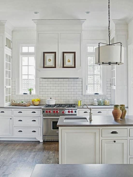 pabla en casa inspiraci n en cocinas blancas On cocinas tradicionales blancas