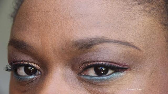 maquillage, makeup, peau noire, black beauty, palette, vice 3, urban decay