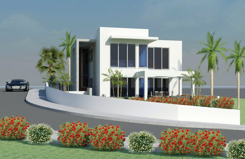 New home designs latest new modern homes designs latest for New house garden design ideas