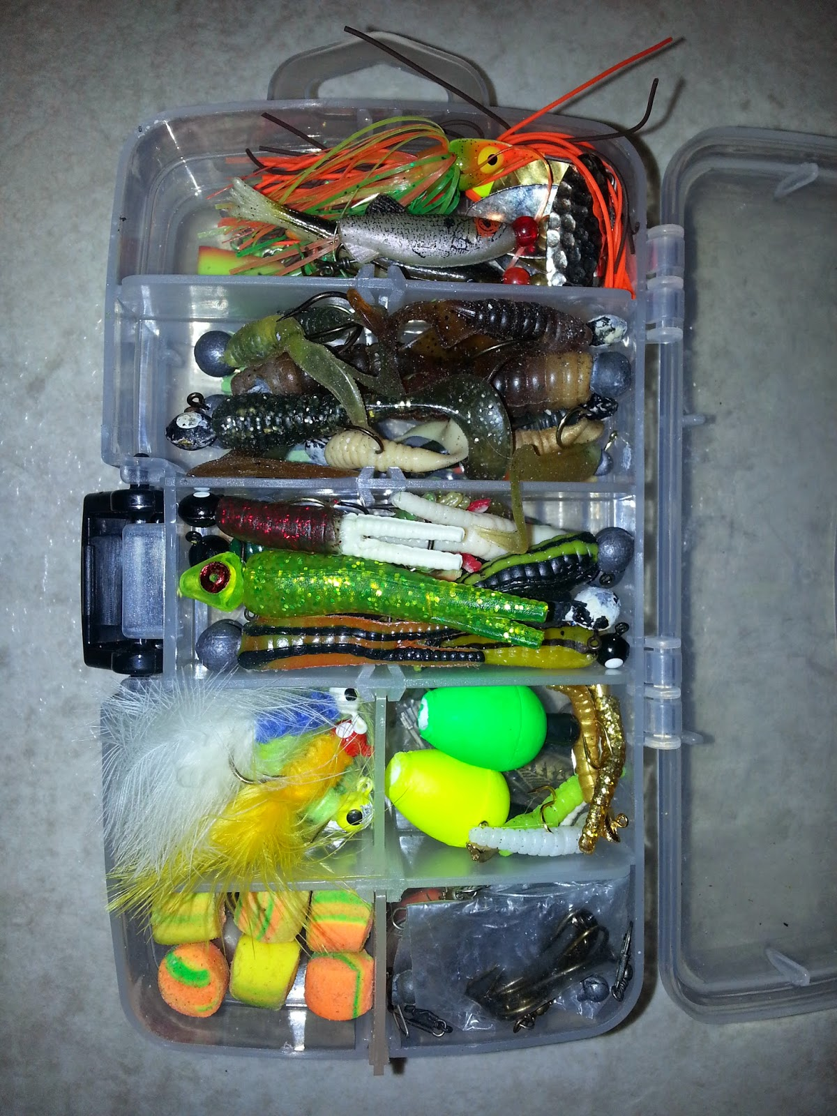 The 7 p 39 s blog backpack survival fishing kit for Fishing tackle kits