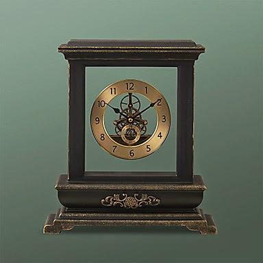 Reloj de Mesa Retro de Metal