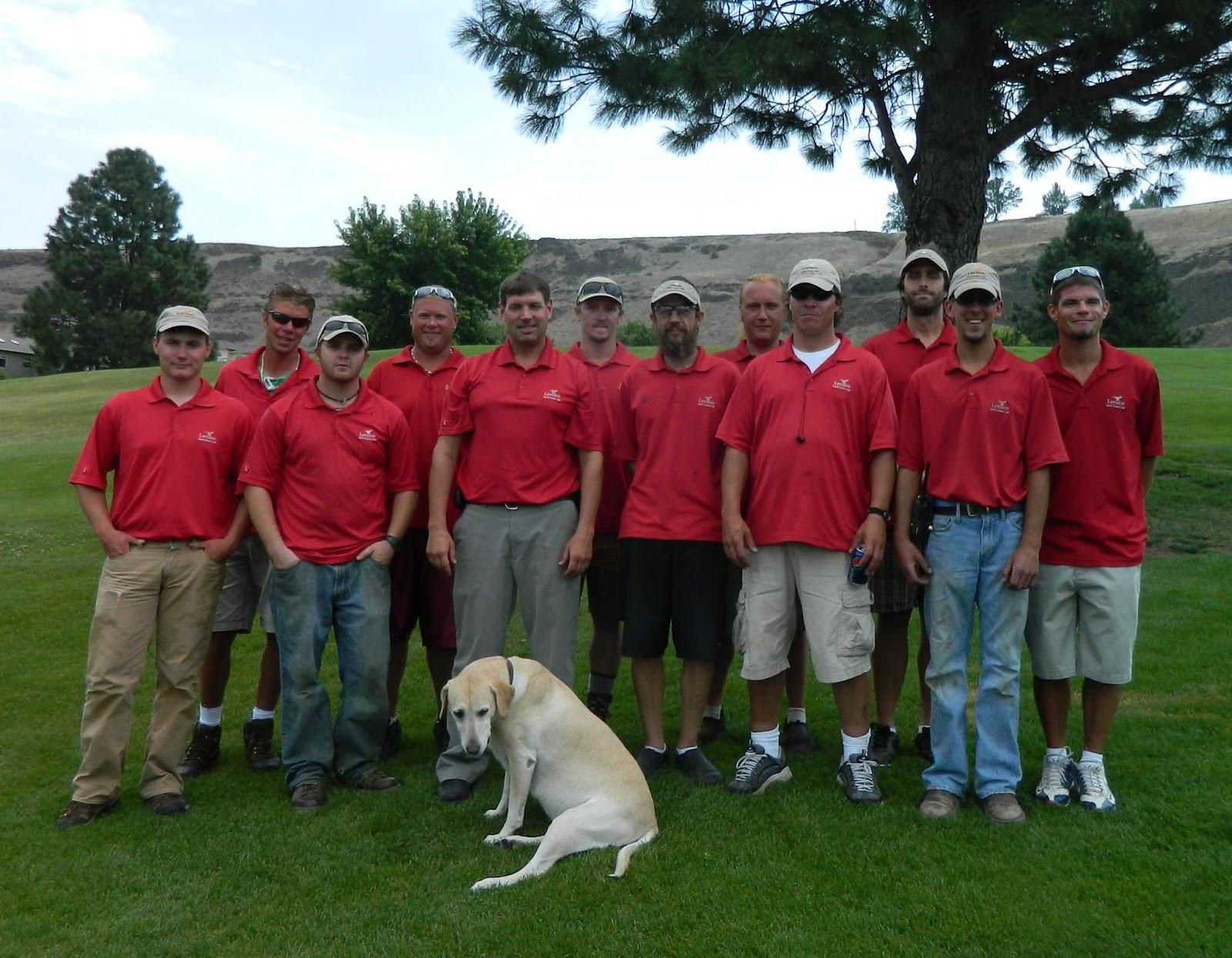 Lgcc golf maintenance staff