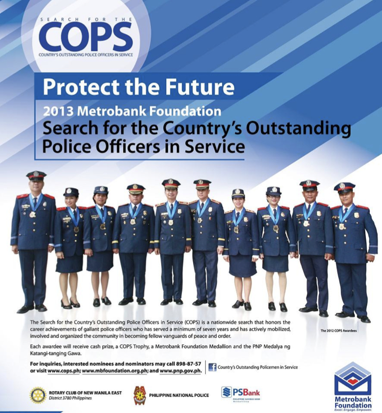 THE PROJECT REVIEW: Announcement : 2013 COPS - Search for ...