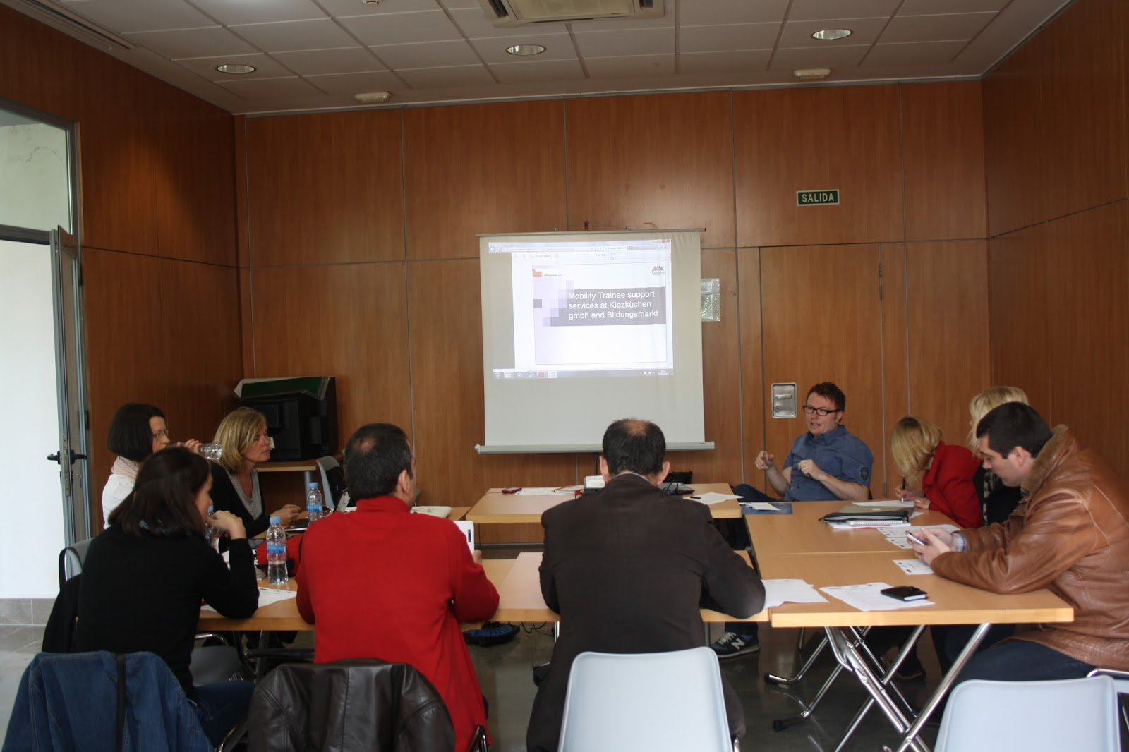 From The 20th To The 22nd Of March 2013 The Representatives Of The  Different Partner Organisations Of The Project MOVE Met Together On The  Spanish City Of ...