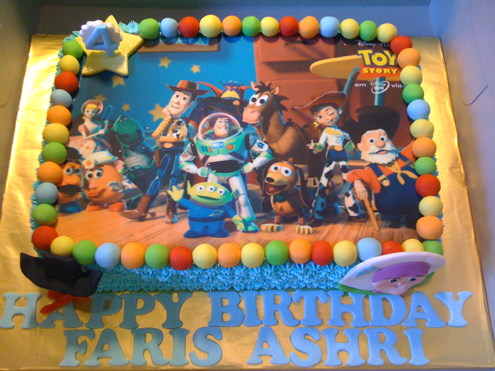 CAKE CUPBOARD: Toy Story - Woody and Buzz Lightyear ...