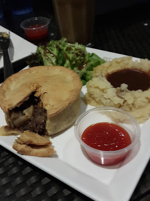 Guinness Pie at Pies and Coffees Rochester Mall