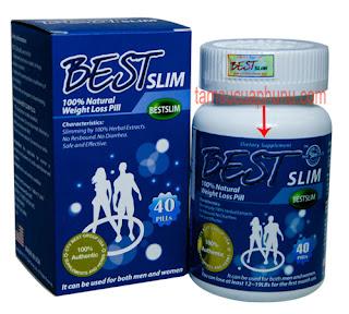 Thuốc giảm cân BEST SLIM của USA hỗ trợ giảm cân nhanh
