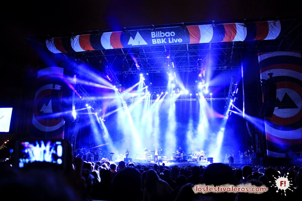 Foster The People en Bilbao BBK LIVE 2014