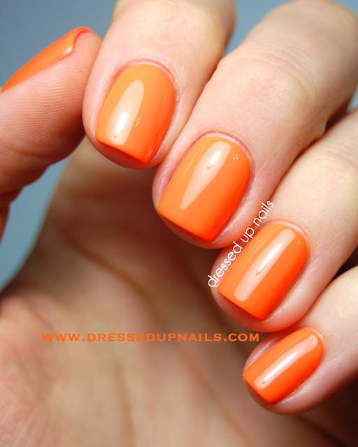 Dressed Up Nails - Models Own Orange Sorbet