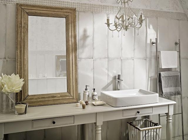 Azulejos blancos para ba os 9 ejemplos imprescindibles - Alicatados de banos ...