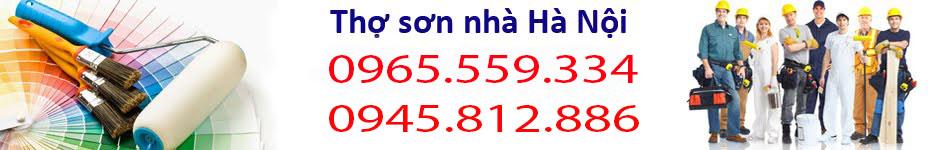 Thợ sơn nhà giá rẻ nhất Hà Nội 0965.559.334