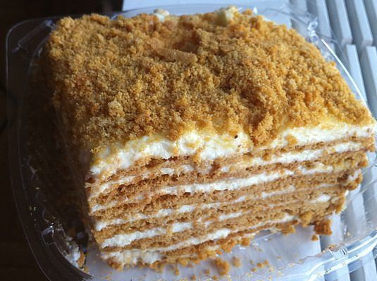 Рецепты домашних тортов сметанник