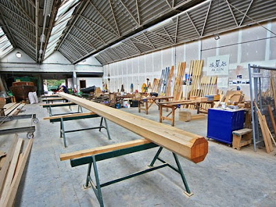 in the AK Ilen Wooden Boatbuilding School – 50' wooden ...