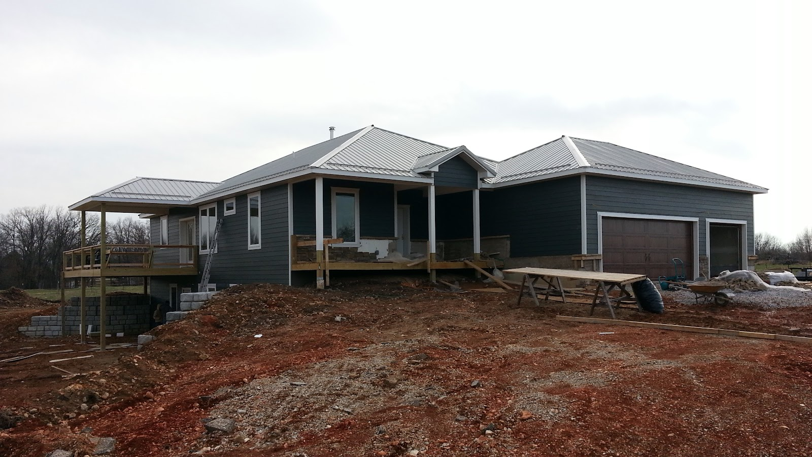 Insulated concrete forms tf systems house siding is done for Insulated concrete form homes