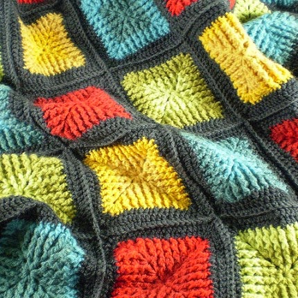 Shaded Squares - Free Pattern