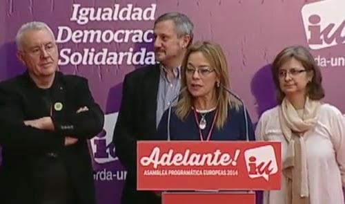 Ángela Vallina, nueva presidenta de la Comisión española en el grupo de GÜE/NGL, después de la dimisión de Willy Meyer (IU) Vallina+-+Europa