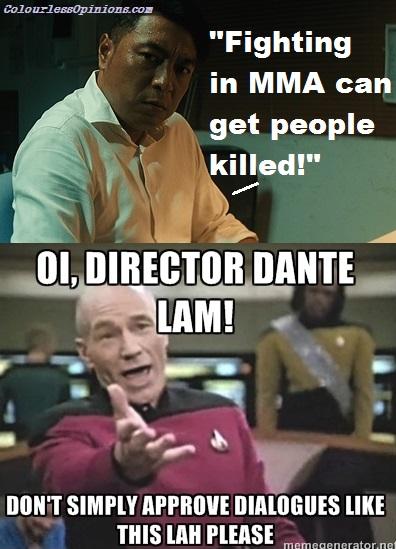 Unbeatable 激戰 Philip Keung Ho-Man & Dante Lam meme