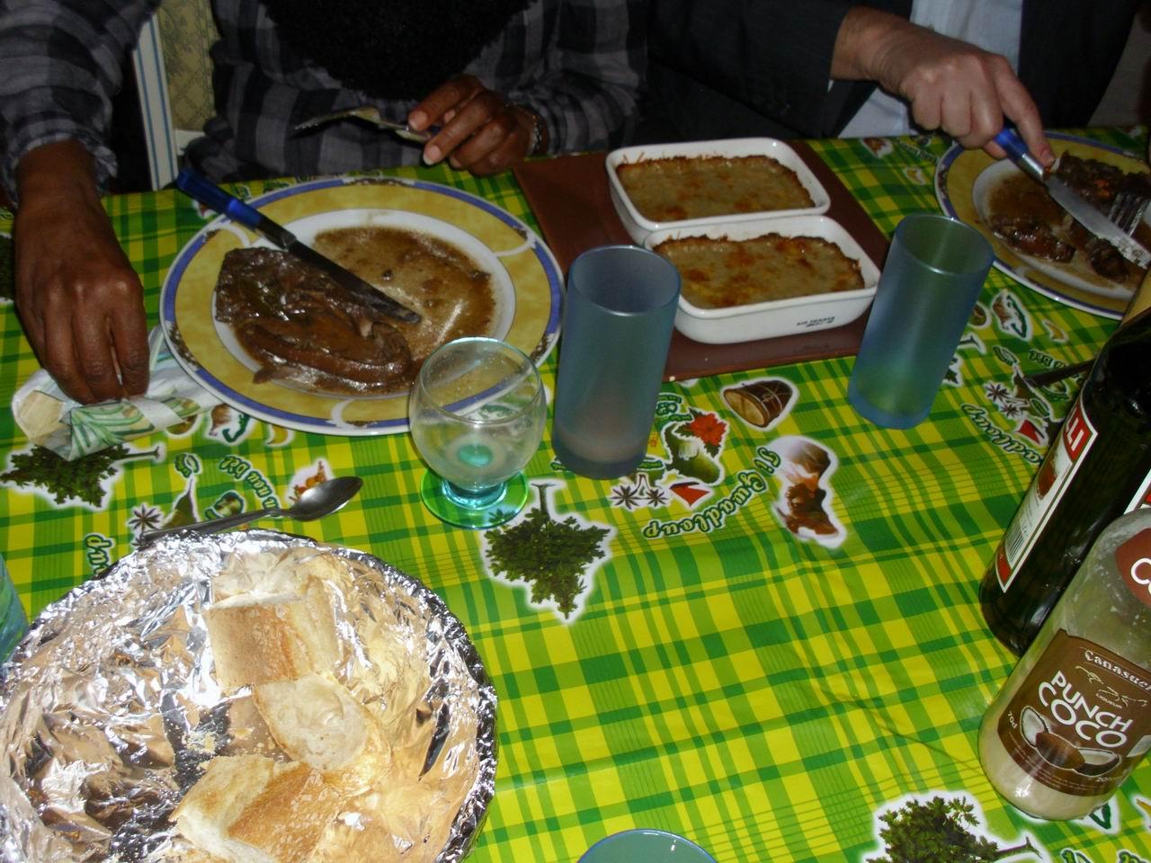 Recettes du chef un repas entre amis for Repas leger entre amis
