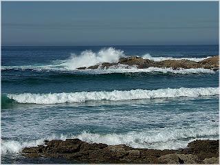 motivação, ondas, mar