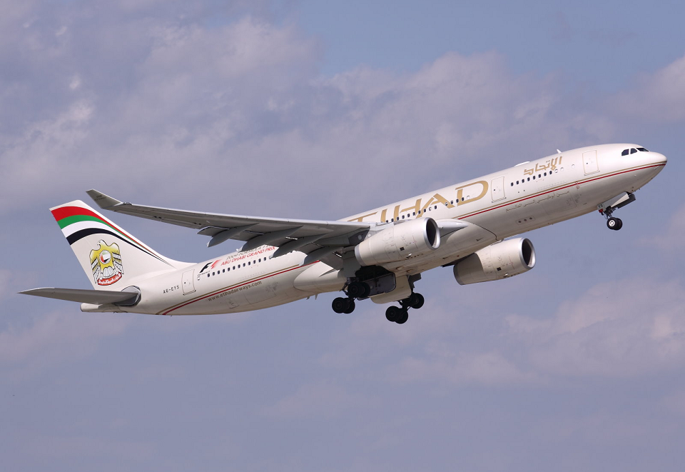 Etihad Airways inauguró su vuelo Madrid - Abu Dhabi