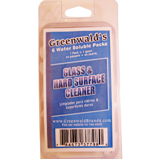 Greenwald's Glass & Hard Surface Cleaner, glass, hard surface, cleaner, review, tomoson,