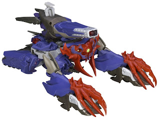 Hasbro Transformers Prime Beast Hunters Shockwave figure
