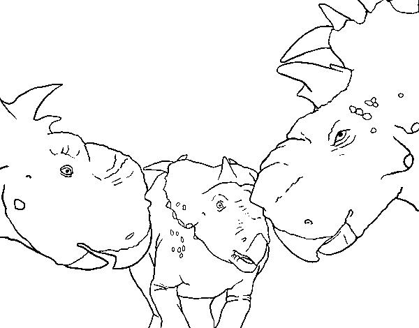 COLOREA TUS DIBUJOS: Dinosaurios para colorear