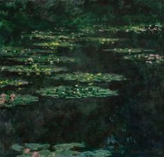 Claude Monet, Water Lillies, 1904. Jardín en Giverny