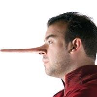 اكتشفي كذب زوجك.. من أنفه !!!