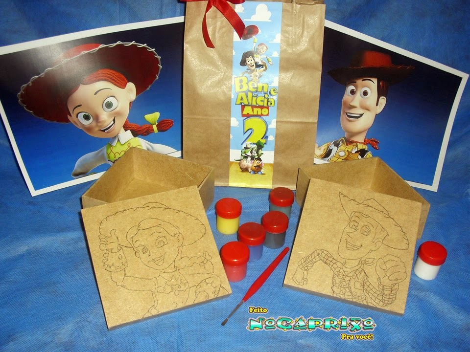 Kit de Pintura - Toy Story