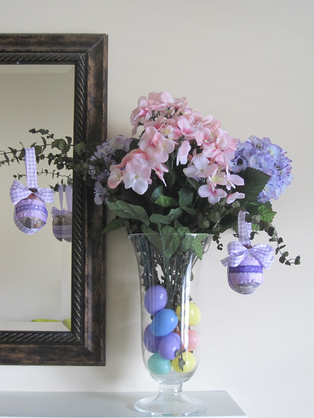 Sweetly Made (Just for you): Mod Podge Ribbon Easter Eggs and ...