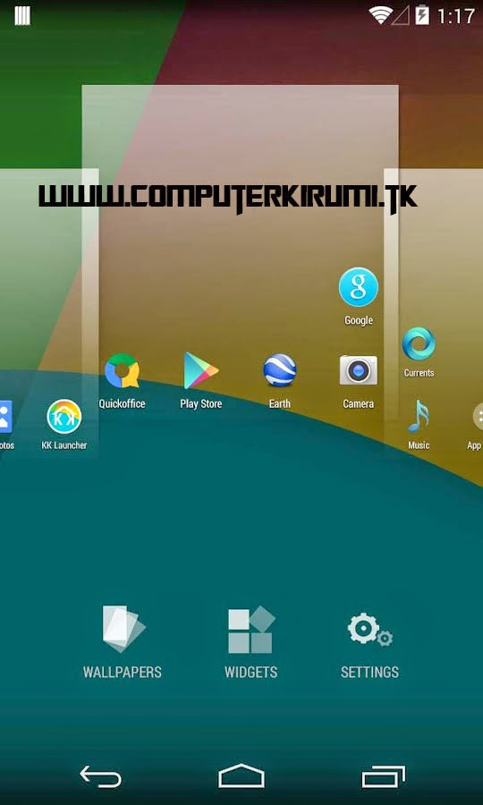 KITKAT LAUNCHER-Best ANDROID LAUNCHER WITH KITKAT THEME-home screen setting