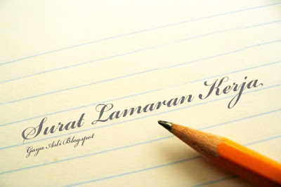 Tips Menulis Surat Lamaran Kerja yang Benar