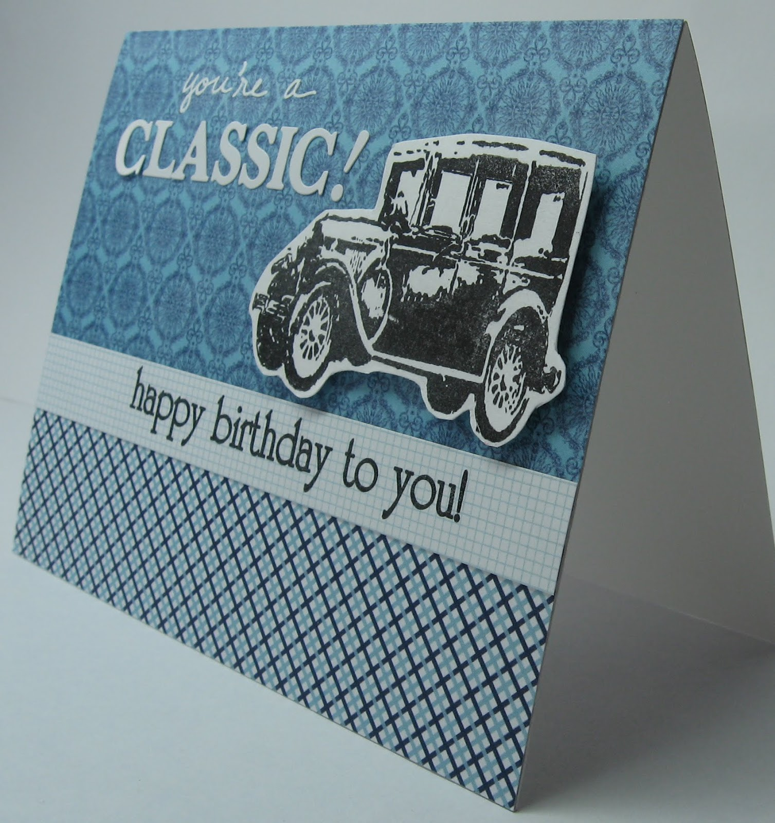 The Good The Bad The Ugly Crafts A classic masculine birthday card – Ugly Birthday Card