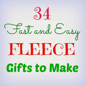 Easy Fleece DIY