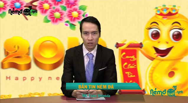 Bản tin ném đá cuối năm con Thìn - Clip Hài
