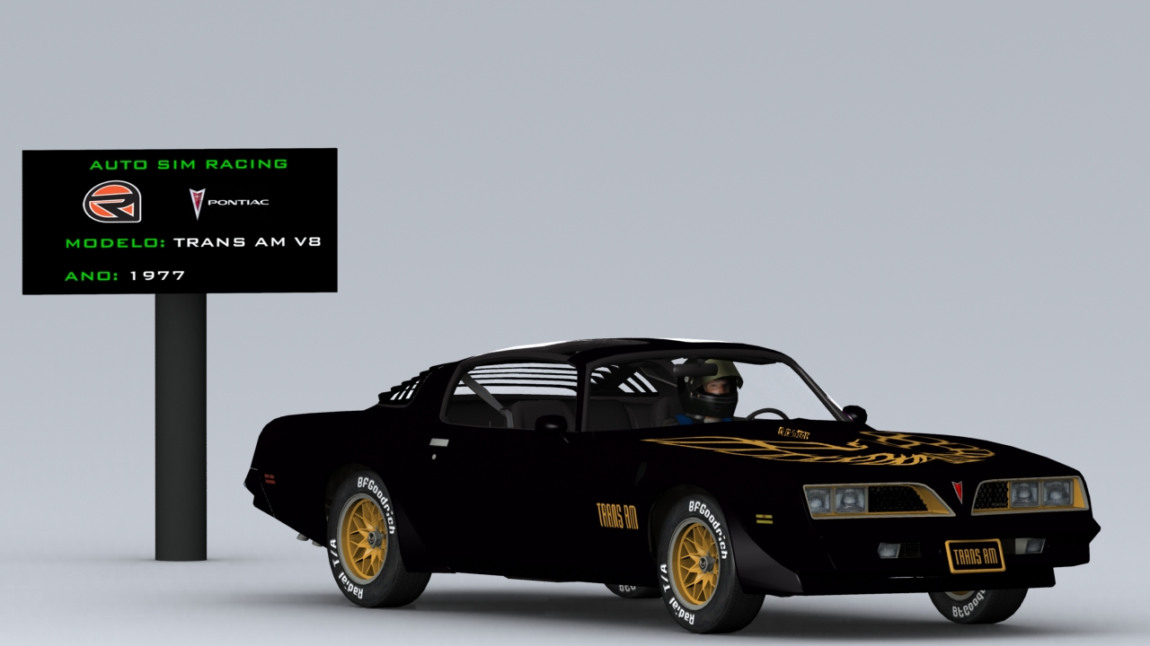 Pontiac Firebird Trans Am 1977 by Fernando Alvarenga TRANS+AM+77