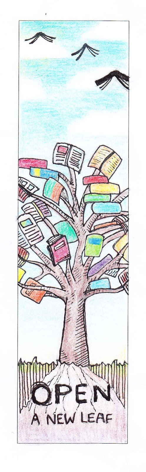 Broadford Library Design A Bookmark Competition 2013