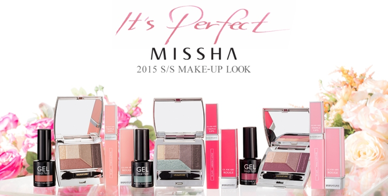 Missha S/S 2015 makeup collection