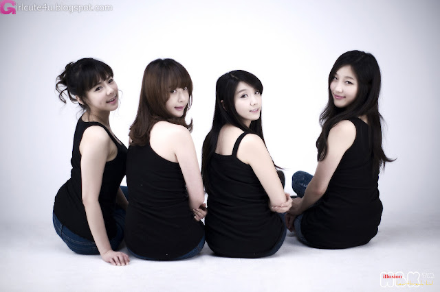 5 Four Angels-very cute asian girl-girlcute4u.blogspot.com