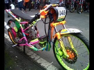 kumpulan modifikasi mio drag 200cc