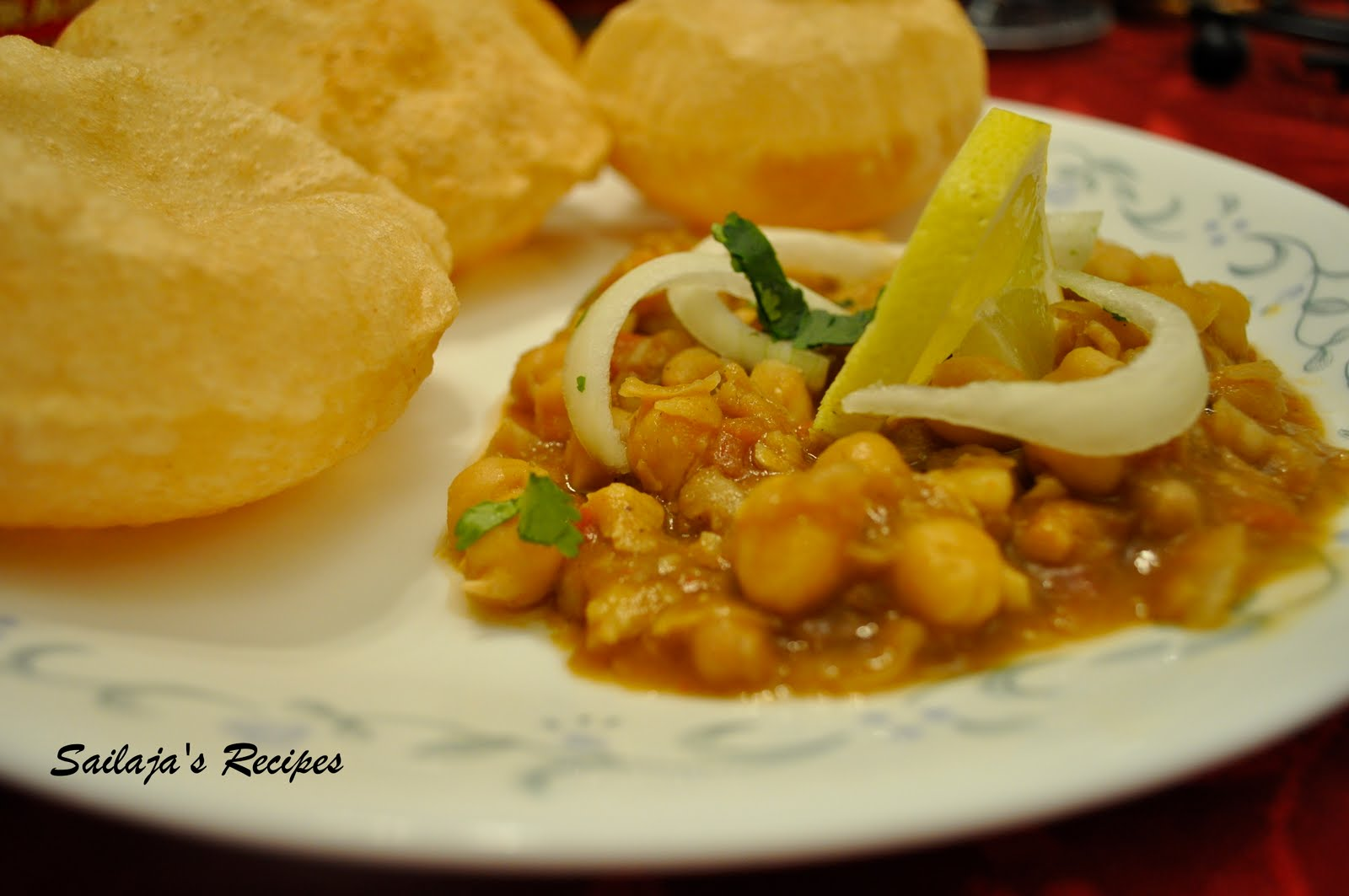 Sailaja's Recipes: Chole/ Chana Masala