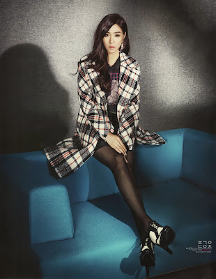snsd tiffany Cosmopolitan November 2013
